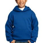 Youth Pullover Hooded Sweatshirt with back name