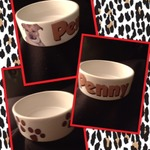 Ceramic Dog Bowl